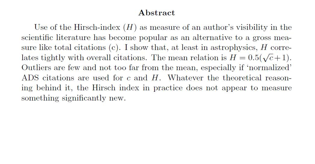 what is an abstract in a research paper This handout discusses how to write good abstracts for reports it covers informational and descriptive abstracts and gives pointers for success.