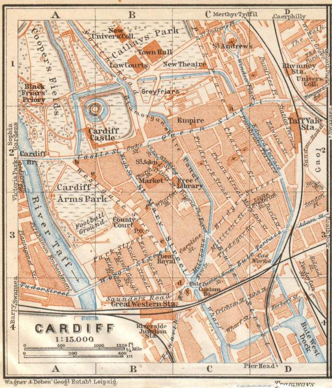 The canals of old Cardiff (1/3)