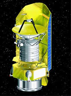 Gaia looks nothing like the Herschel Space Observatory shown here.