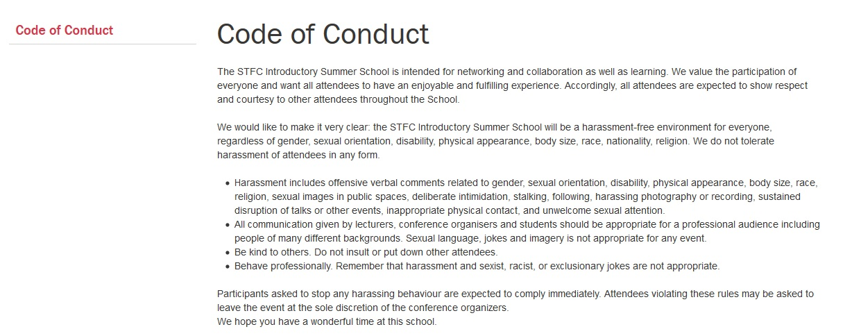 importance of code of conduct pdf