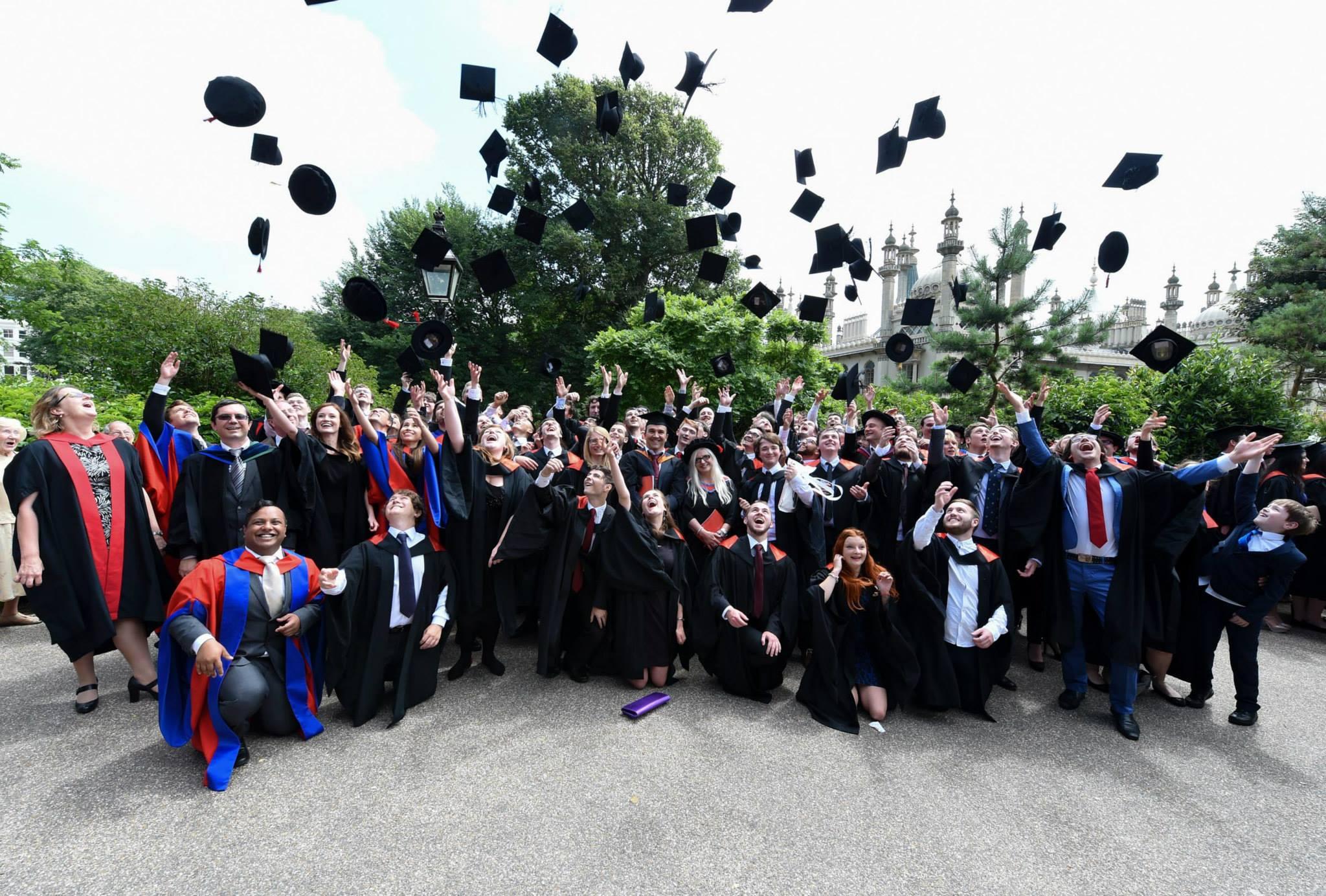 Gowns, Grammar and Graduation | In the Dark