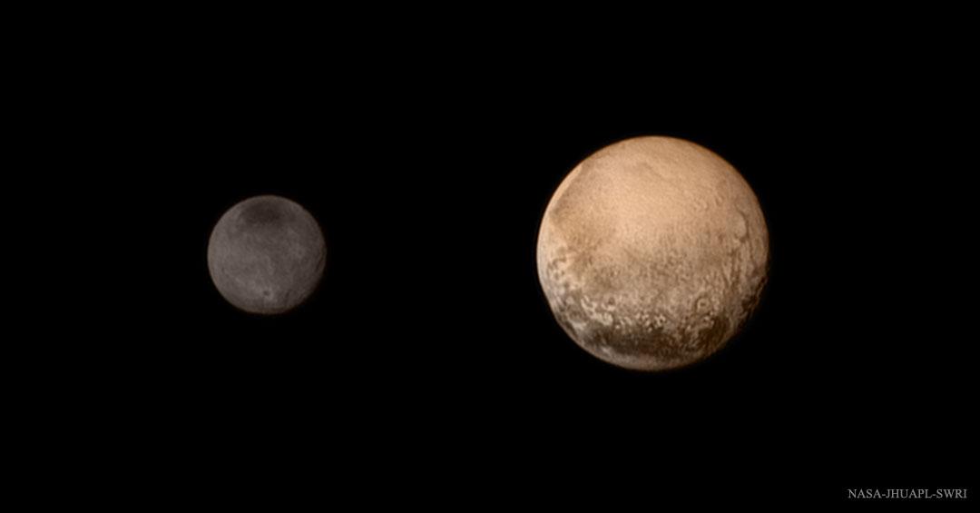 Kerberos Moon Of Plluto: Pluto And The Pavilion