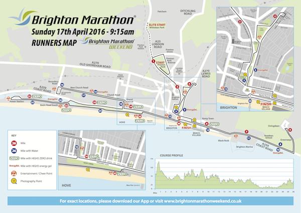 marathon Course map 2016 AW 600
