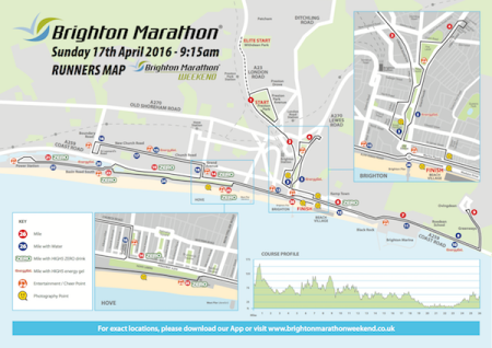 marathon Course map 2016 AW 600