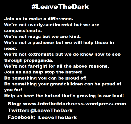 leaveTheDark join us we are meme