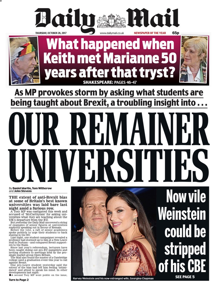 daily mail onl university - 630×814