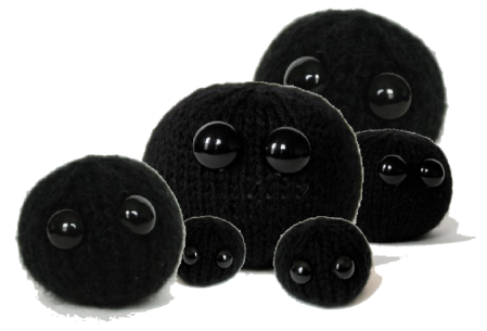 Family of adorable black holes