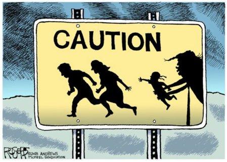 Image result for trump child catcher